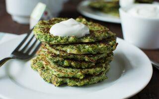 Рецепт оладок із броколі