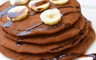 Рецепт шоколадних оладок