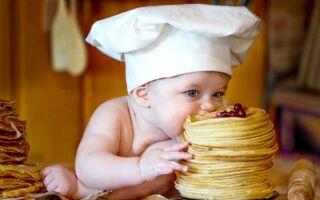 Рецепт дитячих млинців