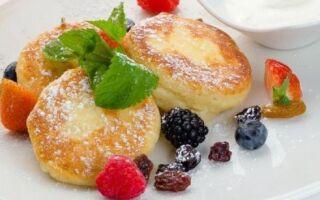 Рецепт дієтичних фітнес сирників