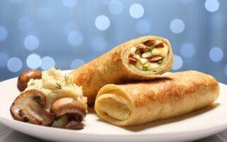 Рецепт картопляно-грибних млинців