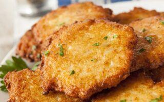 Рецепт картопляних оладок без яєць