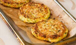 Рецепт оладок з кабачків у духовці