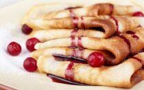 Рецепт вишневих млинців