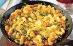 Рецепт макаронного омлету
