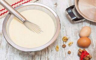 Рецепт млинцевого тіста