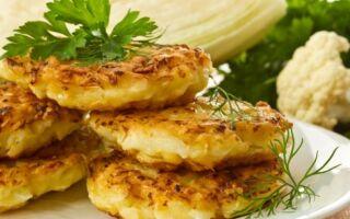 Рецепт капустяних оладок із кефіром