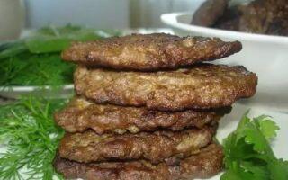 Рецепт печінкових оладок з гречкою