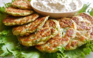 Рецепт оладок із кабачків із сиром та часником
