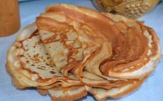 Рецепт оксамитових млинців