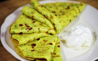 Рецепти кабачкових млинців