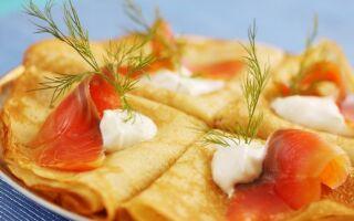 Рецепт рибних млинців
