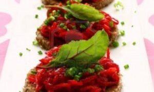 Рецепт вегетаріанських канапе
