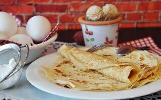 Рецепт млинців на яєчному порошку