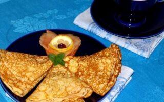 Рецепт найніжніших млинців