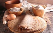 Рецепт млинців із гречаного борошна без застосування дріжджів
