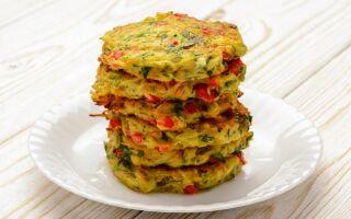 Рецепт овочевих оладок