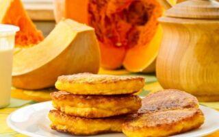Рецепт гарбузових дієтичних оладок
