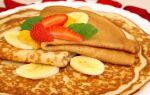 Рецепт млинців без яєць