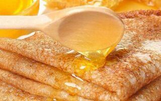 Рецепт медових млинців