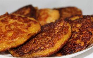 Рецепт моркв'яно-яблучних оладок