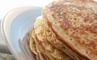 Рецепт татарських млинців тебікмек на дріждях