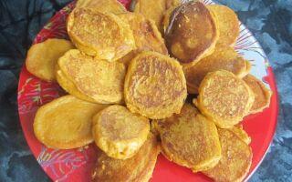 Рецепт оладок із кабачкової ікри