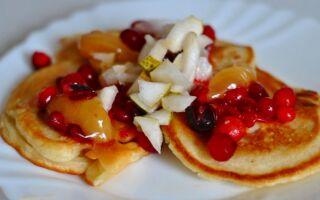 Рецепт фруктових оладок