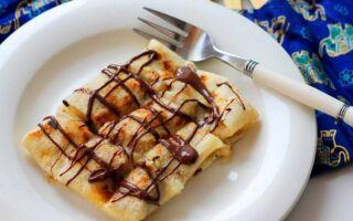 Рецепт тайських бананових млинців