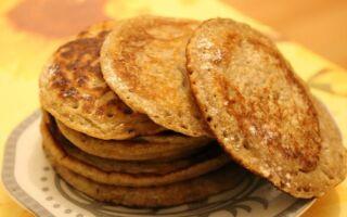 Рецепт оладок із гречаного борошна