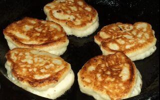 Рецепт оладок на кефірі з кип'ятком