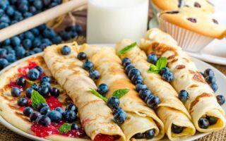 Скільки калорій у 100 грамах млинців