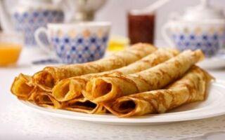 Рецепт млинців з додаванням ряженки