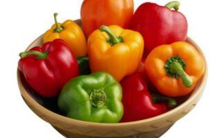 Класичний омлет з помідорами і болгарським перцем