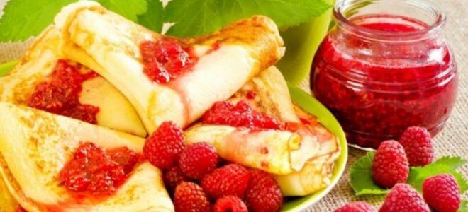 Рецепт ягідних млинців