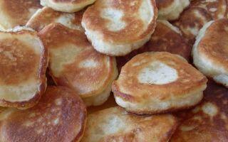 Рецепт оладок як у шкільній їдальні