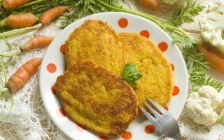 Рецепт оладок із цвітної капусти