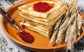 Рецепт пшеничних млинців
