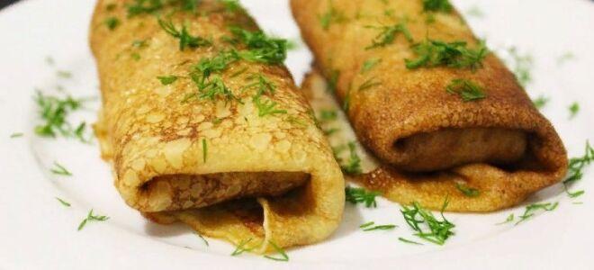 Рецепт начинки з курки для млинців