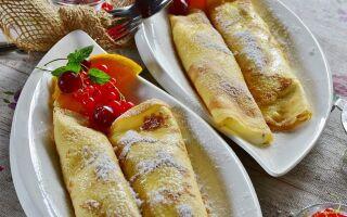Рецепт італійських млинців