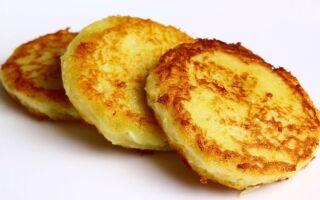 Рецепт пісних картопляних оладок