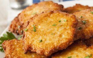 Рецепт картопляних оладок