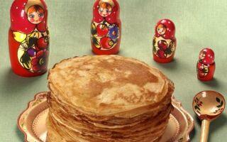 Рецепт російських млинців