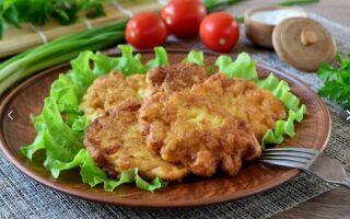Рецепт рибних оладок