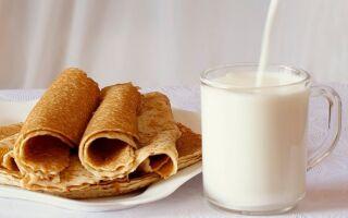 Рецепт млинців на одну літру молока