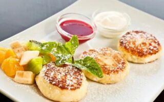 Рецепт геркулесових сирників
