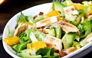 Рецепт салату з додаванням яєчних млинців