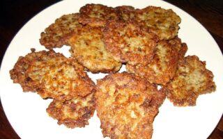 Рецепт картопляних оладок з грибами