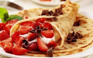 Рецепти солодких начинок для млинців