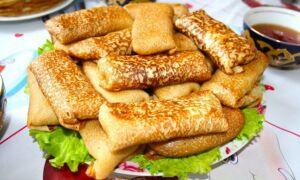 Рецепт солоних млинців